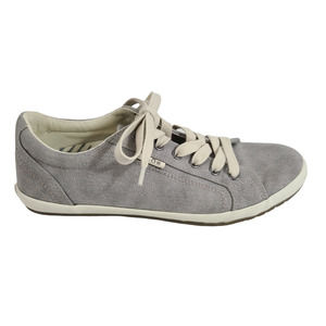 Taos Star Classic Lace Up Sneaker Low Top Women 9M Gray Wash